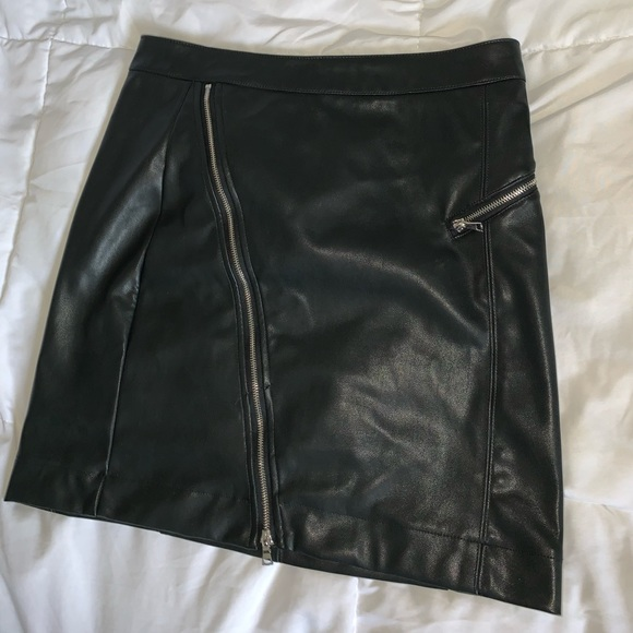 Dynamite leather skirt